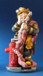 figura de bombero