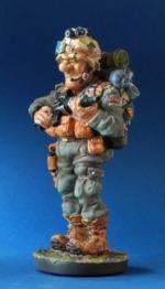 figura de soldado
